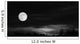 Full Moon Wall Decal Design 2