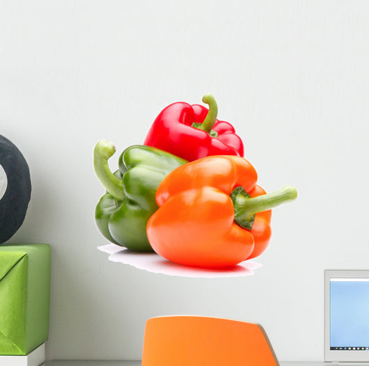 Sweet bell pepper Wall Decal