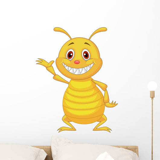 Termite cartoon Wall Decal
