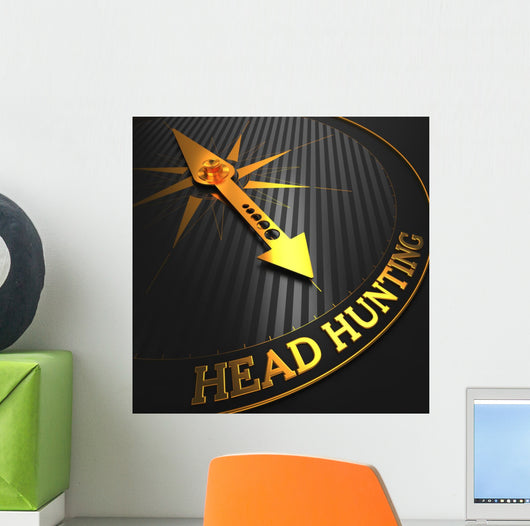 Headhunting Business Concept Wall Mural