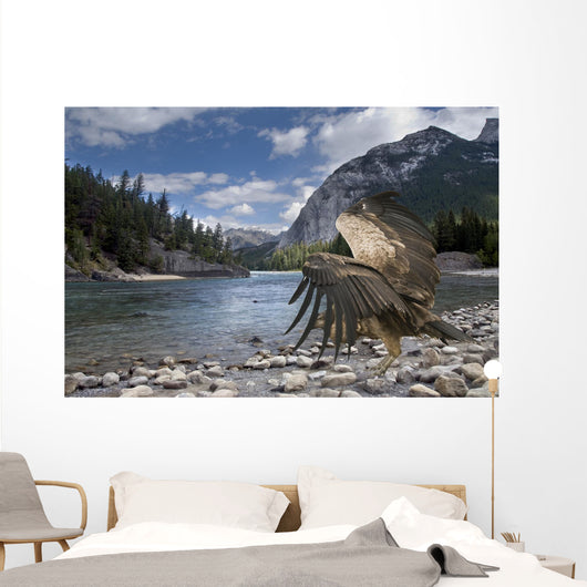 Condor in Banff Natural Park, Canada Wall Mural