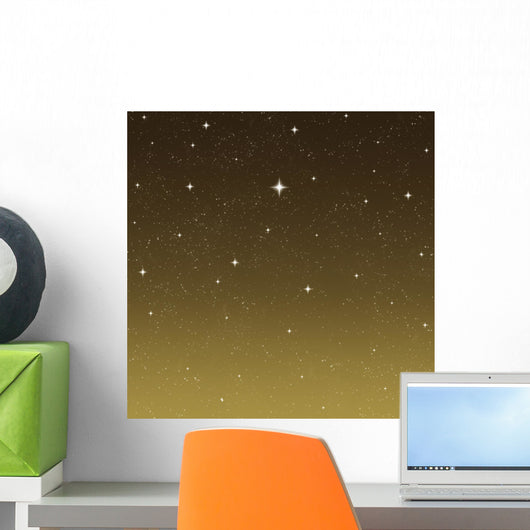 starry night sky Wall Mural