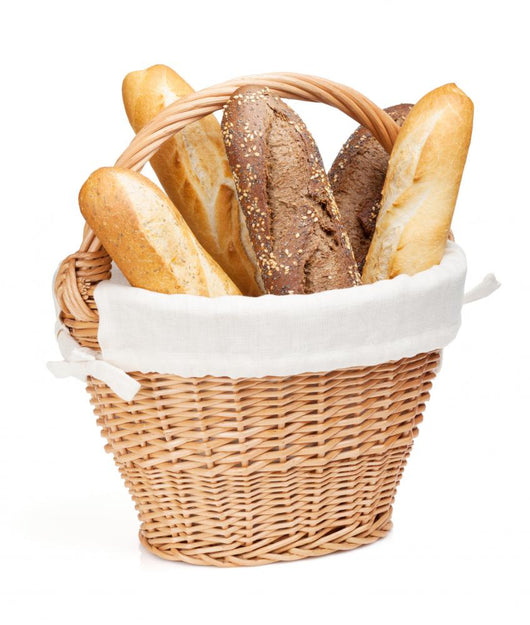 french baguette basket Wall Decal