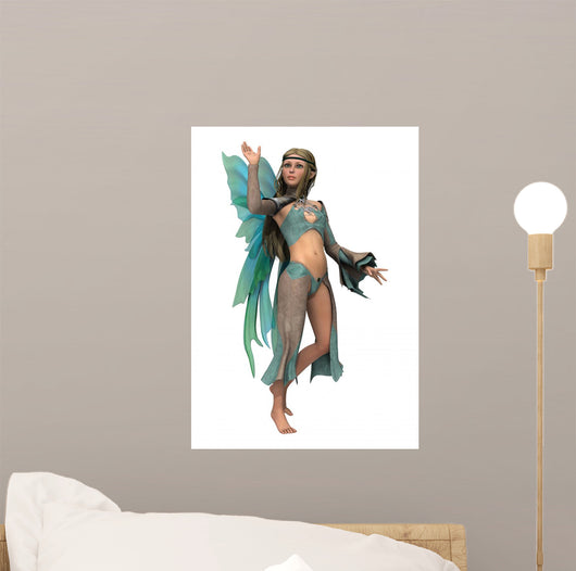 Fairy Butterfly Wall Decal
