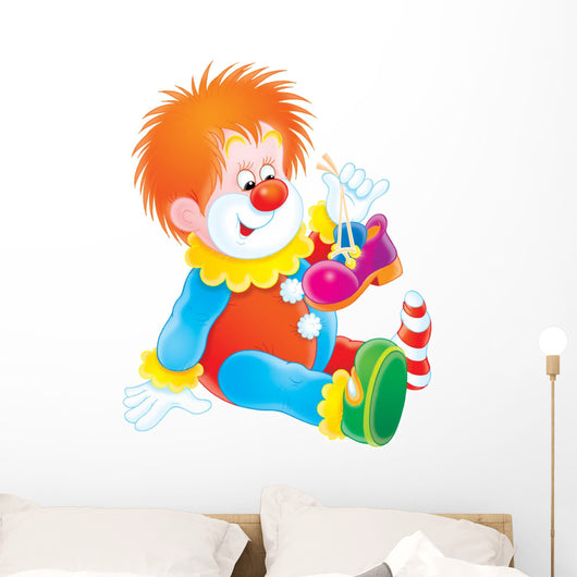clown Wall Mural