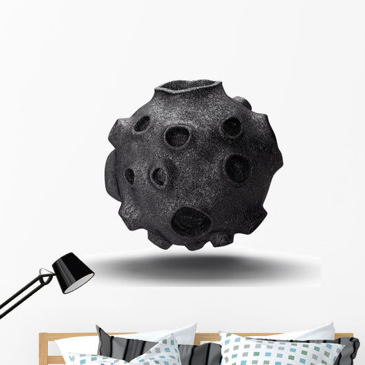 Outer Space Asteroid Wall Decal