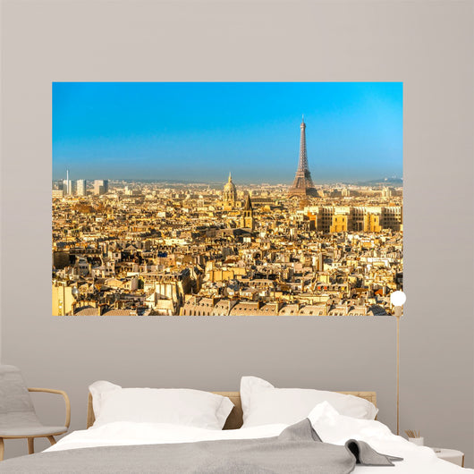 Eiffel Tower at Sunrise Paris Wall Mural