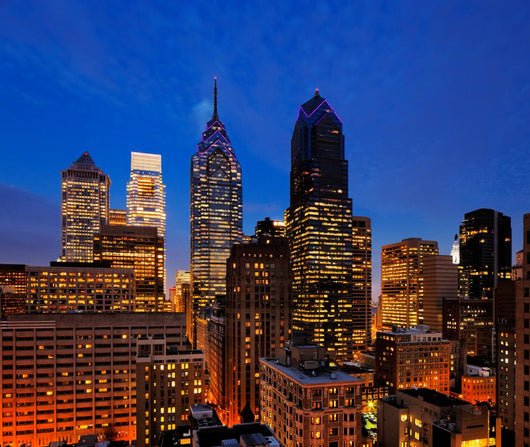 City of Philadelphia Skyline