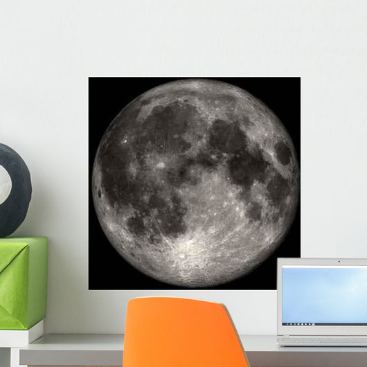 Full Moon Wall Decal Design 1