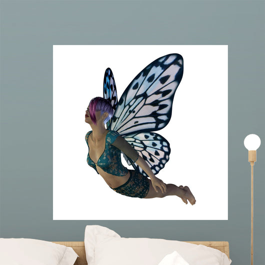 Fairy With Blue Wings
