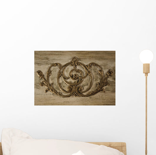 Vintage Scroll Work Wall Mural