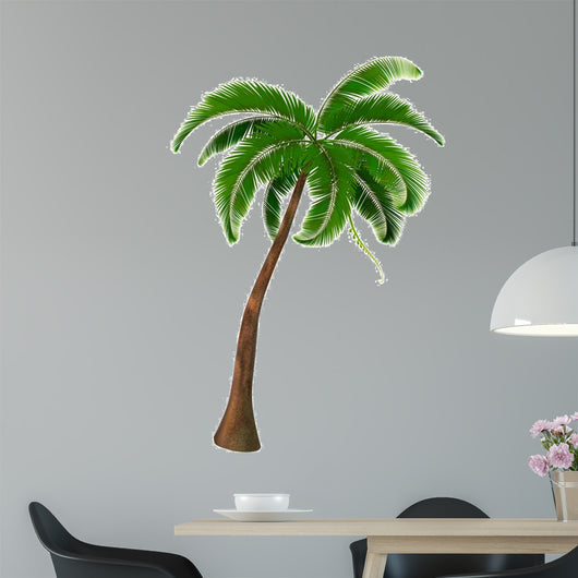 Palm tree. Vector.