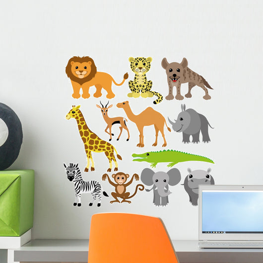 African animals. Wall Decal