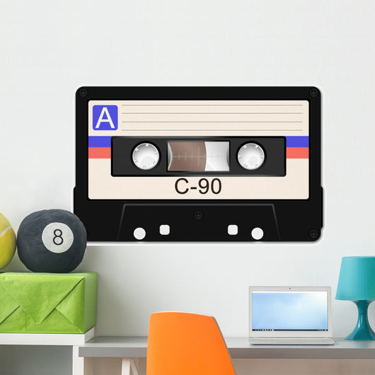 Cassette Tape Wall Decal