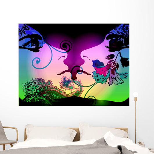 bohemian desert beauty Wall Mural