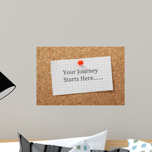 The phrase Your Journey Starts Here