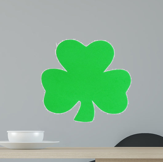 Shamrock Clover isolated. St. Patrick's Day.