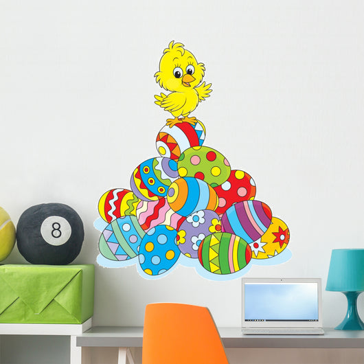 Easter Chick Wall Decal