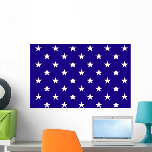 Starry background Wall Mural