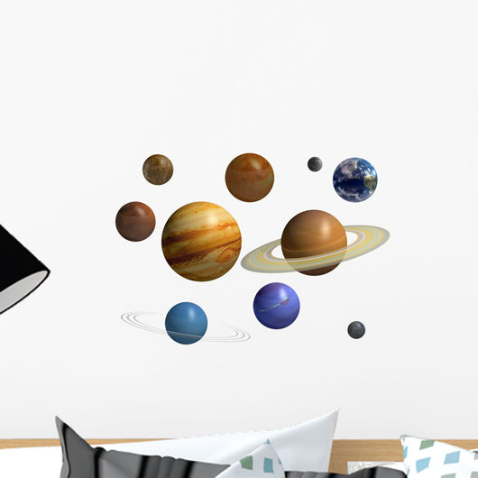 Solar System Planets Wall Decal