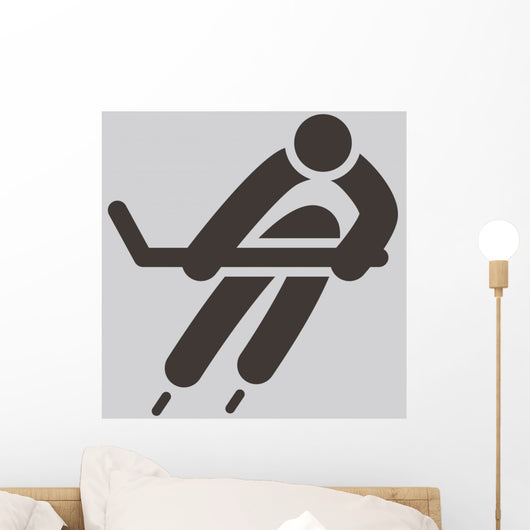 Hockey Icon Wall Decal