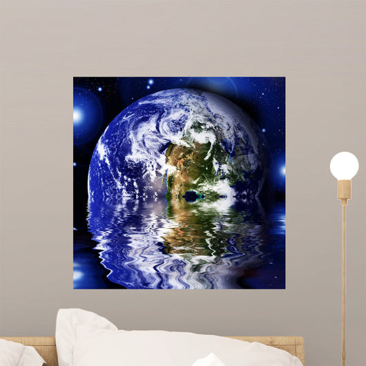 Earth Space Wall Mural