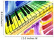 Watercolor Drawing Piano