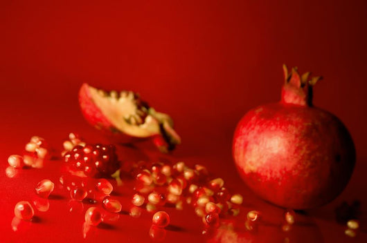 Pomegranate Seeds Wall Mural