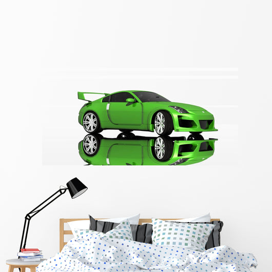 Sports Car Wall Decal