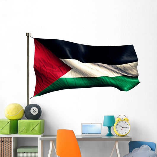 Palestine National Flag Wall Decal