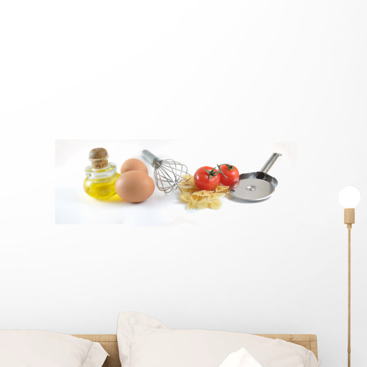Pastes and tomatos Wall Decal