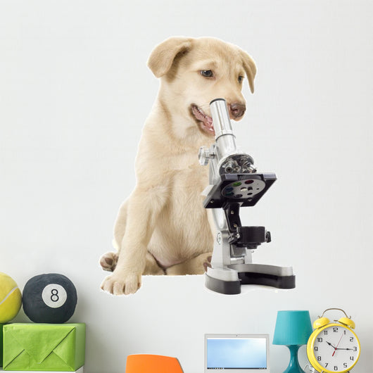 Puppy Veterinarian Wall Decal