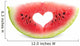 Love Watermelon Wall Decal