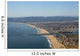 Aerial View of Santa Monica and Marina Del Rey Wall Mural
