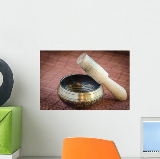 Tibetan singing bowl  Wall Mural