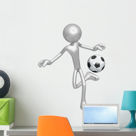 Soccer Football Wall Decal
