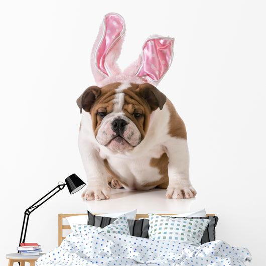 Easter Dog Wall Decal