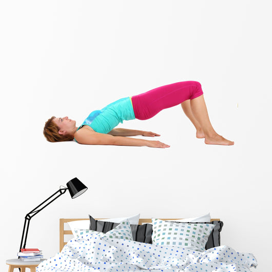 Yoga Fitness Wall Decal