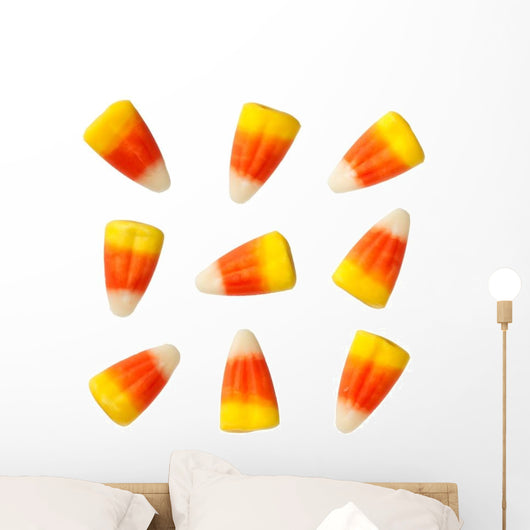 Halloween Candy Corns Wall Decal Sticker Set