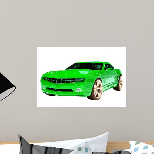Concept Muscle Car Wall Decal