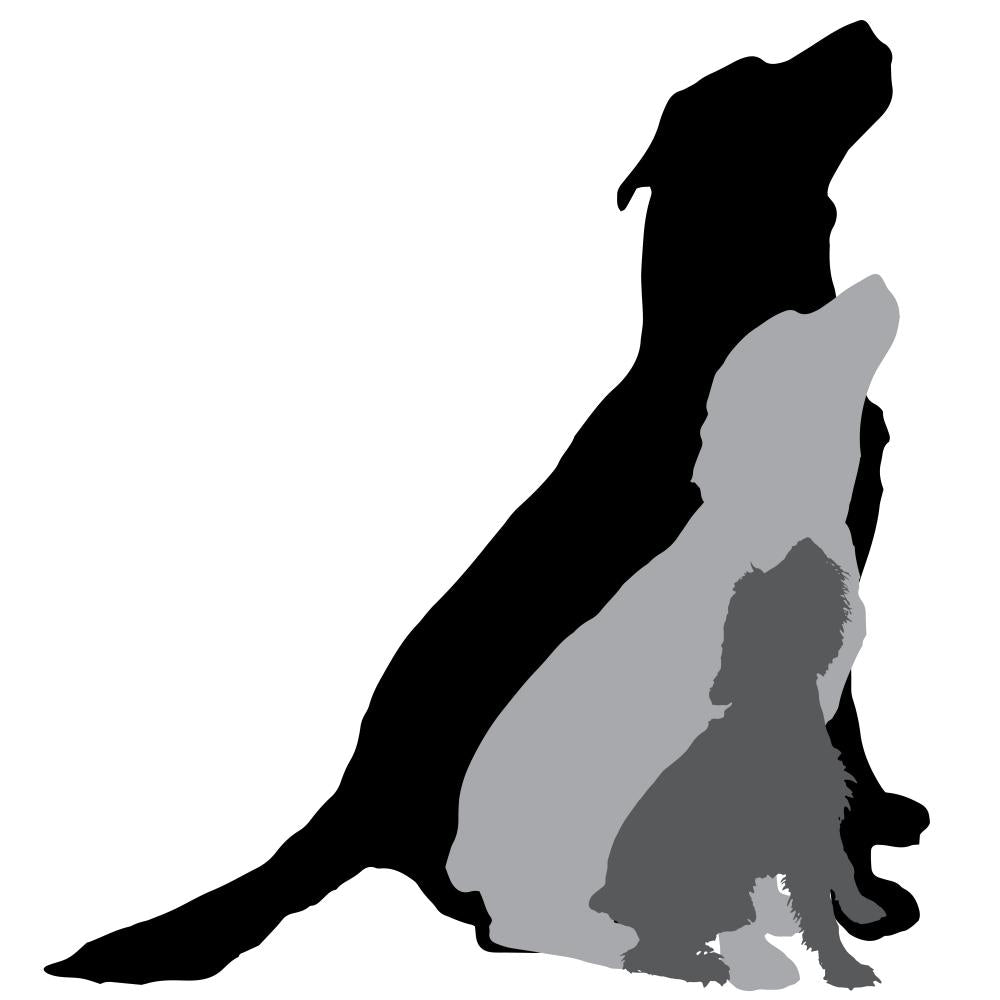 Vector Silhouette Dog 8 Wall Decal