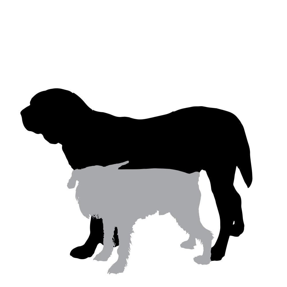 Vector Silhouette Dog 2 Wall Decal