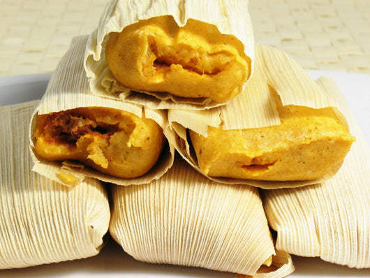 Steamed Tamales Wall Mural