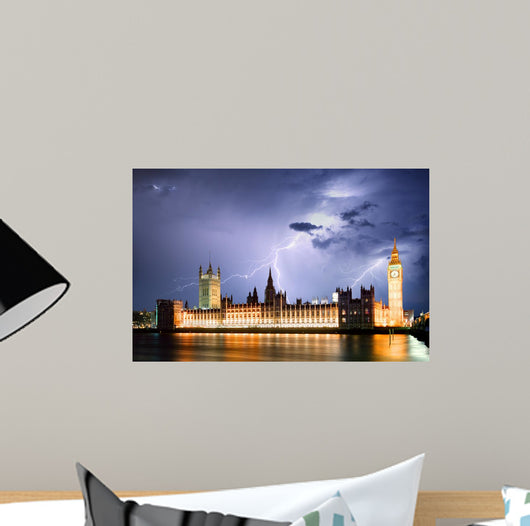 London Strom Wall Mural