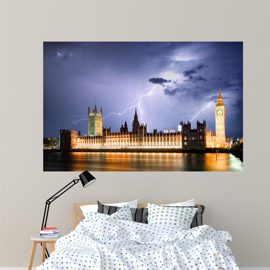 London at strom Wall Mural
