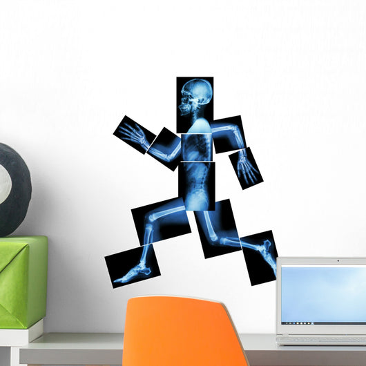 x-rays aerobic exercise wall decal – wallmonkeys