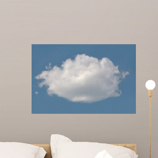White Fluffy Cloud from