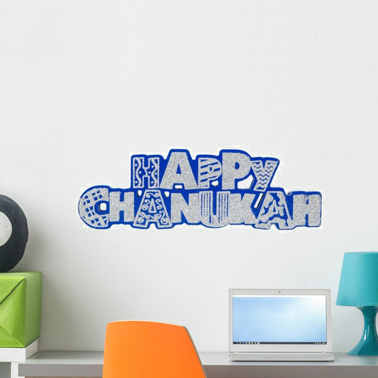 Happy Chanukah Wall Decal