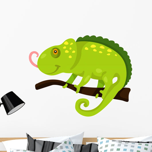 cartoon iguana Wall Decal