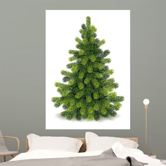 Detailed Christmas Tree